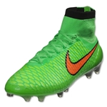 Nike Magista Obra FG (Poison Gree/Total Orange)