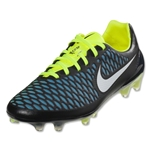 Nike Magista Opus FG (Black/Blue Typhoon/Volt)