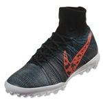 Nike Elastico Superfly TF (Black/Total Crimson)
