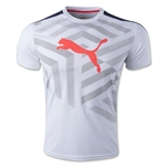 PUMA IT evoTRG Graphic T-Shirt 15 (Wh/Nv)