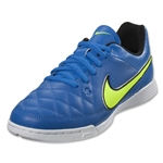 Nike Junior Tiempo Genio Leather IC (Soar/Volt)
