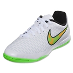 Nike Junior Magista Onda IC (White/Posion Green/Total Orange)