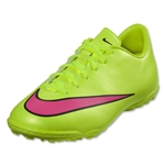 Nike Junior Mercurial Victory V TF (Volt/Black)