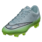 Nike Women's Mercurial Veloce II FG (Ice Cube Blue/Chrome/Flash Lime/Blue Lagoon)