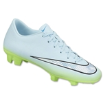 Nike Women's Mercurial Victory FG (Ice Cube Blue/Chrome/Flash Lime/Blue Lagoon)