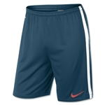 Nike Squad Longer Knit Short (Navy/White)