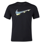 Nike Swoosh Youth T-Shirt (Black)