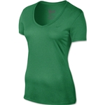 Nike V-Neck Legend Women's T-Shirt 2.0 (Green)
