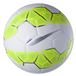 Nike Strike 15 Ball (White/Volt/Metallic Silver)