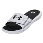 Under Armour Ignite IV SL Sandals (White/Black)