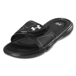 Under Armour Women's Ignite VII SL Sandal (Black)