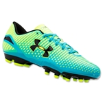 Under Armour Speed Force FG Junior (High-Vis Yellow/Escape/Black)