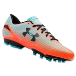 Under Armour Speed Force FG Junior (After Burn/Breathtaking Blue/Black)