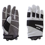 STX Women's Clinch Lacrosse Gloves (Black)