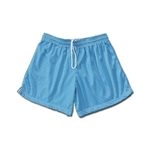 White Hole Mesh Women's Shorts (Sky)