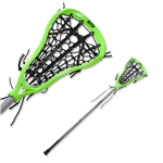 STX Fortress 300 Complete Lacrosse Stick (Green)