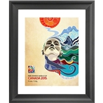 FIFA Women's World Cup Canada 2015 Official Poster Framed Print