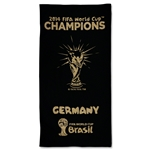2014 FIFA World Cup Brazil(TM) Winner Beach Towel