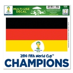 Germany 2014 FIFA World Cup Brazil(TM) Winner 5x6 Decal
