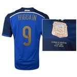 Argentina 2014 HIGUAIN 9 World Cup Final Commemorative Soccer Jersey
