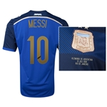 Argentina 2014 MESSI 10 World Cup Final Commemorative Soccer Jersey