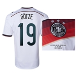 Germany 2014 GOTZE 9 World Cup Final Commemorative Soccer Jersey