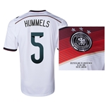 Germany 2014 HUMMELS 5 World Cup Final Commemorative Soccer Jersey