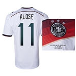 Germany 2014 KLOSE 11 World Cup Final Commemorative Soccer Jersey
