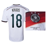 Germany 2014 KROOS 18 World Cup Final Commemorative Soccer Jersey