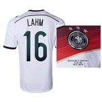 Germany 2014 LAHM 16 World Cup Final Commemorative Soccer Jersey