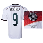 Germany 2014 SCHURRRLE 9 World Cup Final Commemorative Soccer Jersey