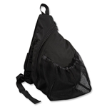 Vici Soccer Sling Bag (Black)