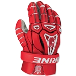 Brine King V 13 Lacrosse Gloves (Red)