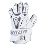 Brine King V 13 Lacrosse Gloves (White)