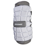 Brine Clutch Lacrosse Arm Pads (White)