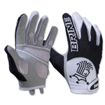 Brine Silhouette Women's Lacrosse Gloves (Black)