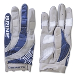 Brine Dynasty Women's Lacrosse Gloves (Navy)