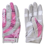 Brine Dynasty Women's Lacrosse Gloves (Pink)