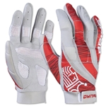 Brine Dynasty Women's Lacrosse Gloves (Red)