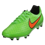 Nike Junior Magista Onda FG (Poison Green/Total Orange)