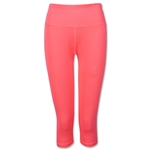 adidas Performer Mid-Rise 3/4 Women's Pant (Red)