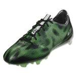adidas F50 adizero FG (Core Black/White/Solar Green)