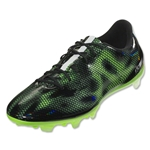 adidas F30 FG (Core Black/White/Solar Green)