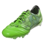 adidas F50 adizero FG Leather (Solar Green/White)