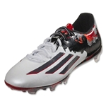 adidas Messi 10.2 FG (White/Granite/Scarlet)