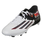 adidas Messi 10.3 FG (White/Granite/Scarlet)