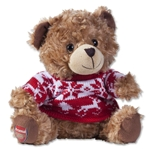 Arsenal Christmas Plush Bear