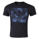 adidas Logo Stamp T-Shirt (Black)