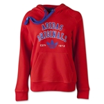 adidas Originals Women's Logo Essential Hoody (Red)