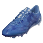 adidas Women's F10 FG (Lucky Blue/White/Night Flash)